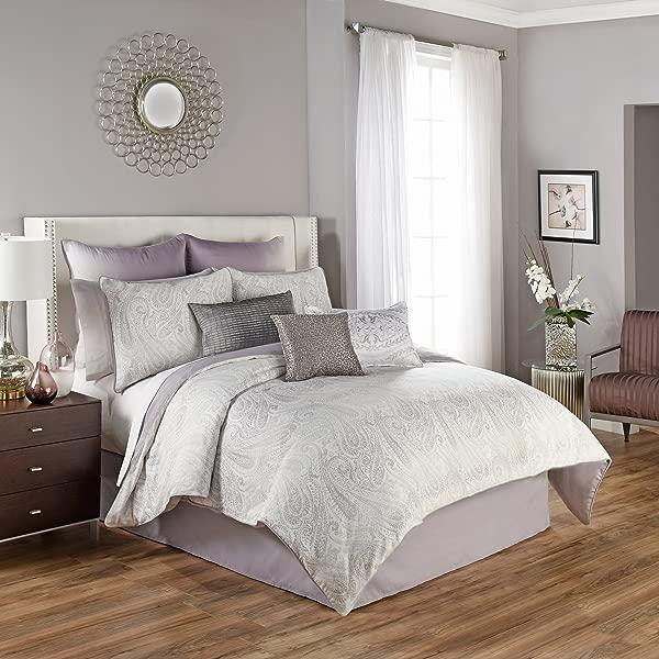 Beautyrest Henriette Comforter Set Queen Lavender