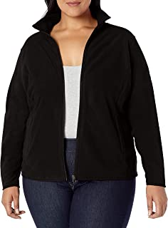 Women's Plus Size Full-Zip Polar Fleece Jacket