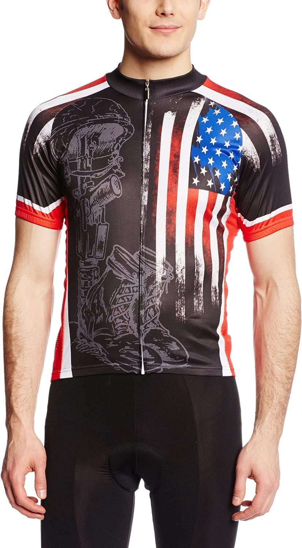 83 Sportswear Men's Fallen Warrior Cycling Jersey
