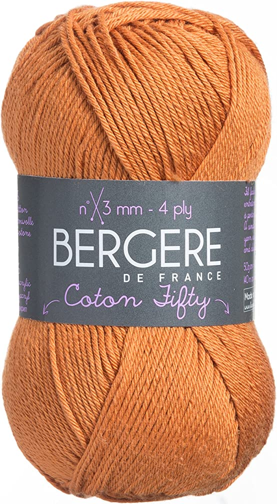 Bergere De France COTTON-42653 Coton Fifty Yarn, Chamallow