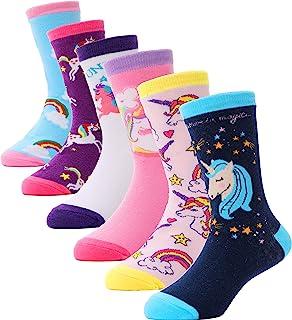 Children Cotton Crew Socks For Girl Kids Toddler Fashion...