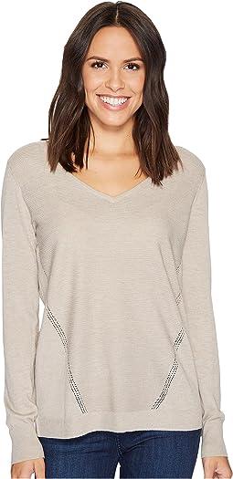 NYDJ - Double V-Neck Sweater