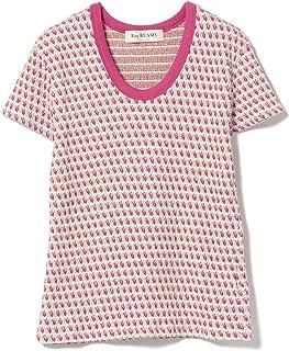 (レイビームス)Ray BEAMS/Tシャツ フルーツ 柄 ジャカード 半袖 Tシャツ レディース