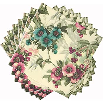 20 x Paper Napkins for Table Party and Decoupage Small Flowers 59