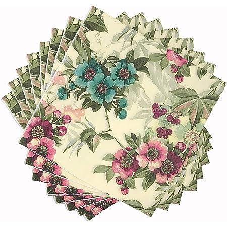 20 x Napkin 40 x 40 cm Tissue Napkins Spring Birds 39172