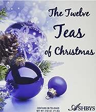Coffee Masters Ashby's Tea the Twelve Teas of Christmas Variety Pack
