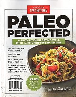 America's Test Kitchen Paleo Perfected Magazine 2019