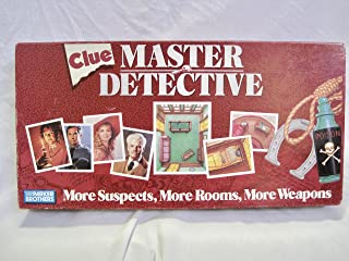 Clue Master Detective Board Game
