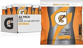 Gatorade Powder Bag Orange, 21 Ounce (Pack of 32)
