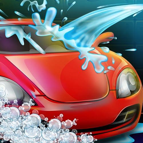 Autowäsche & Werkstatt : Lernspiel für Kinder - Waschanlage für Autos