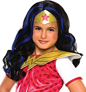 Rubie's Costume Co - DC Superhero Girls: Wonder Woman Child Wig