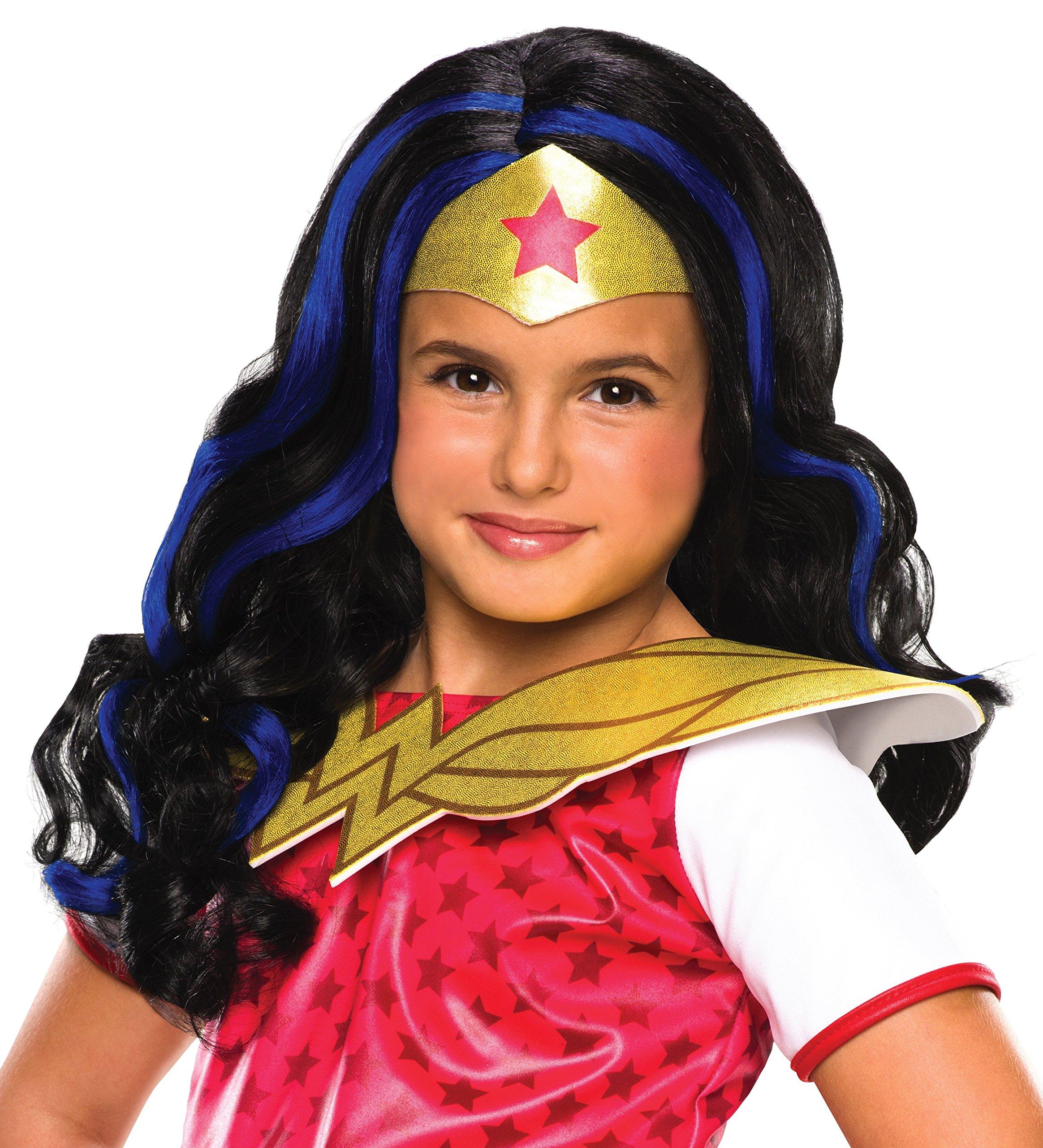 Rubies Peluca Wonder Woman Shg 32971: Amazon.es: Juguetes y juegos
