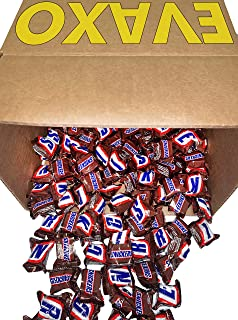 LUV BOX - Snickers Classic Chocolate Candy Bars 5 Pound Bulk Minis, Snacks for Party, Buffet, Pinata, Easter Baskets, Halloween, Valentine Day Gift