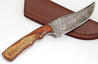 custom made damascus knives