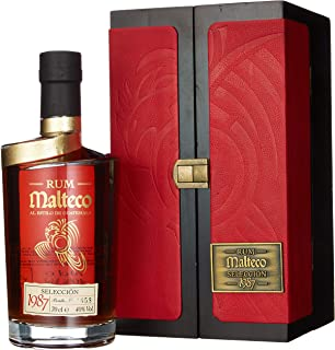 Malteco Seleccion 1987 Wooden Box Rum 1 x 0.7 l