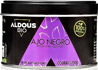 Auténtico Ajo Negro Ecológico Español | Producto Gourmet | Dientes Pelados Calidad Premium | Máxima frescura y Sabor | Lib...