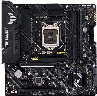 لوحة ألعاب ASUS TUF GAMING B560M-PLUS WIFI LGA1200 (Intel®11th/10th Gen) Micro ATX (PCIe 4. 0, فتحات 2x M.2, 8+1 مراحل، 2....