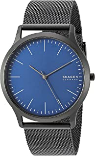 Skagen Men's Jorn Quartz Stainless Steel Watch, Color: Black, 22 (Model: SKW6554)