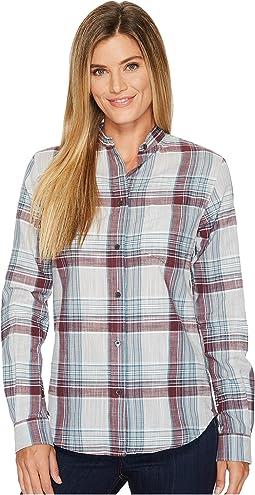 Shelton Banded Collar Shirt