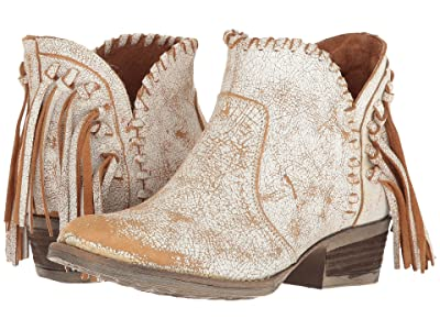 Corral Boots Q0004 (Tan/White) Women