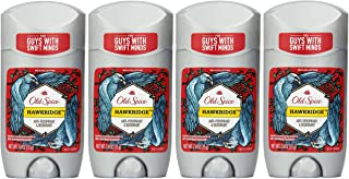 Old Spice Wild Collection Hawkridge Scent Men's Invisible Solid Anti-Perspirant & Deodorant 2.6 oz (Pack of 4)
