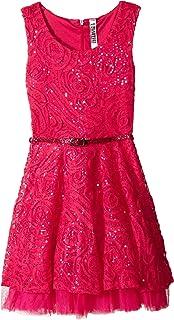 فستان جميل للفتيات في جميع أنحاء Soutache