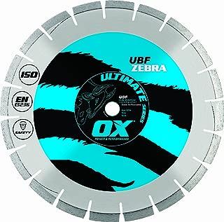 OX OX-UBF-24 Ultimate Dual Purpose 24-Inch Walk-Behind Saw Diamond Blade, 1-Inch bore