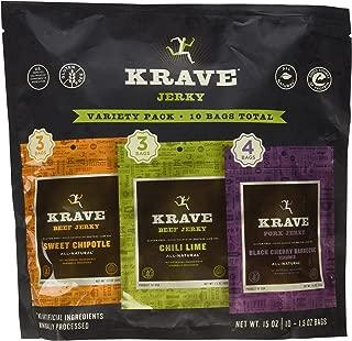 Krave Jerky Variety Pack, 15 oz.