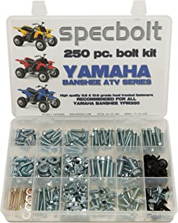 Specbolt Fasteners Bolt Kit: Yamaha - Banshee YFM350 Model Series ATV (250 pc)
