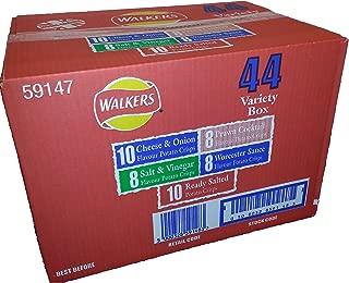 Walkers Crisps 6 Pack (44 variety pack Bumper Box)