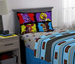 Franco Kids Bedding Super Soft Sheet Set, 3 Piece Twin Size, Five Nights at Freddy's