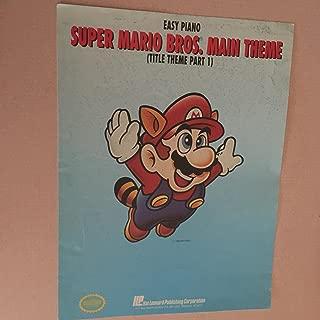 Super Mario Bros. Main Theme (Title Theme Part 1) easy piano
