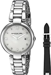 Women's 'Shine' Swiss Quartz Stainless Steel Watch, Color:Silver-Toned (Model: 1600-ST-00995)
