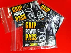 Original Lifting Grips by GRIP POWER PADS The Alternative To Gym Workout Gloves Comfortable & Light Weight Grip Pad For Men & Women That Want To Eliminate Sweaty Hands (10 Pack)