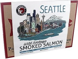 SeaBear Seattle Skyline Salmon, Smoked Sockeye, 6 Ounce