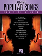 All-Time Popular Songs for Violin Duet (English Edition)