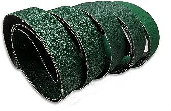 2 X 48 Inch Knife Sharpening Zirconia Sanding Belts - Coarse Grits - 6 Pack Assortment