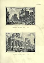 Catalogues of the prisons and the views of Rome (18th Century): by Giovanni Battista Piranesi