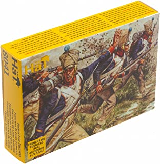 HAT Industries 8041 1:72 Napoleonic French Line Fusiliers (48)