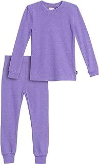 City Threads Girls' Thermal Underwear Long John Set - Made in USA
