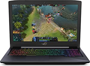"Asus ROG Strix Hero Edition Gaming Laptop, 15.6"" IPS-Type Full HD, Intel Core i7-7700HQ Processor, GeForce GTX 1060 6GB, 1..."