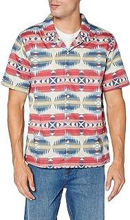 Urban Classics Pattern Resort Shirt Camisa para Hombre