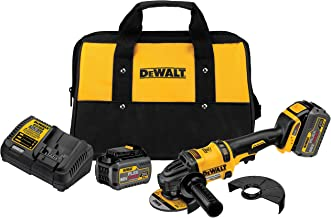DEWALT DCG414T2 60V MAX 2 Battery FLEXVOLT Grinder with Kickback Brake Kit