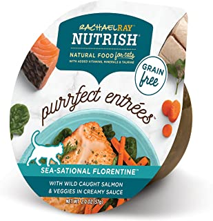 Rachael Ray Nutrish Purrfect Entrees Wet Cat Food, 2 Ounce Cups (Pack of 24), Grain Free