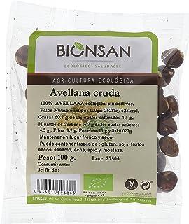 Bionsan Avellana Cruda Ecológica - 3 Bolsas de 100 gr - Total: 300 gr