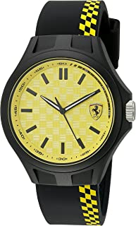 Ferrari Men's Quartz Multi Color Casual Watch (Model: 0830324)