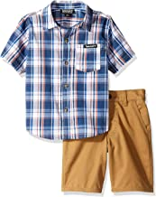 Timberland Boys' 2 Pieces Shirt Shorts Set