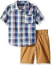 Timberland Boys' 2 Pieces Shirt Shorts Set