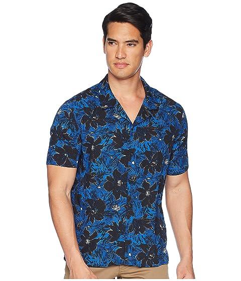 c7837cae84 Flores Azul Camisa Estampado Con Kooples De Exóticas qw17TOx