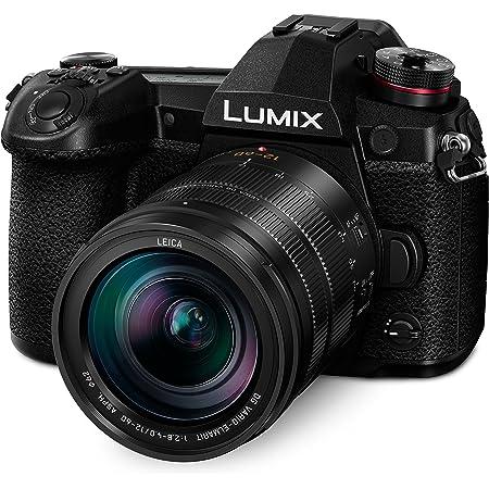 Panasonic LUMIX G9 Mirrorless Camera, Micro Four Thirds, 20.3 Megapixels Plus 80 Megapixel, High-Resolution Mode with LUMIX G Vario 12-60mm F3.5-5.6 Lens (DC-G9MK), Black